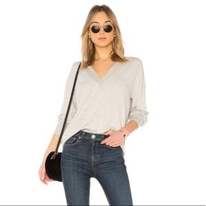 rag & bone Flora Pullover in Heather Grey